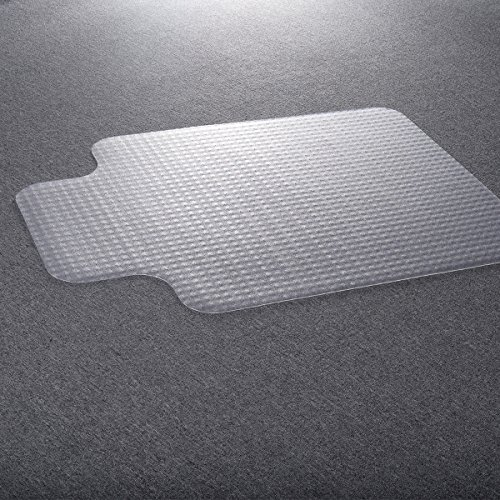 Costzon 36''x48'' PVC Home Office Chair Floor Mat Studded Back with Lip for Standard Pile Carpet by Costzon