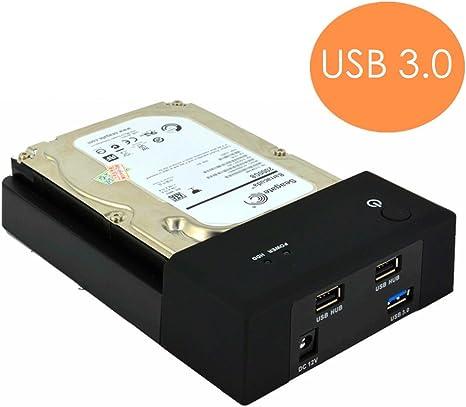 USB 3.0 A SATA disco duro externo estación de acoplamiento con ...