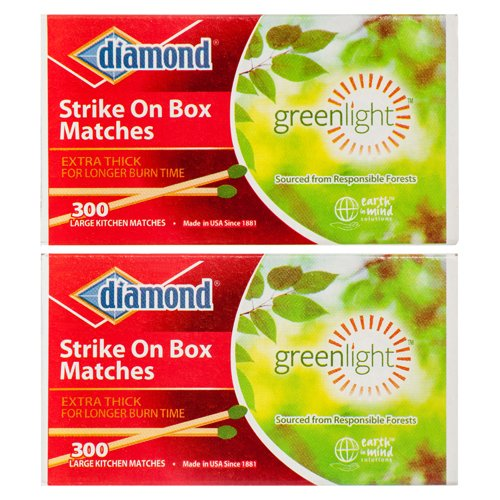 New 312357 Matches 2Pk X 300Ct / Ea #Diamond (-Pack) Kitchen Tools Cheap Wholesale Discount Bulk Stationery Kitchen Tools