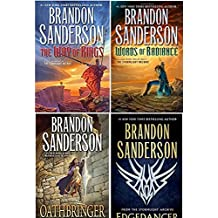 [by Brandon Sanderson the Stormlight Archive 4 Book Set: The Way of Kings, Words of Radiance, Edgedancer, Oathbringer]