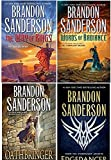 download ebook [by brandon sanderson the stormlight archive 4 book set: the way of kings, words of radiance, edgedancer, oathbringer] pdf epub