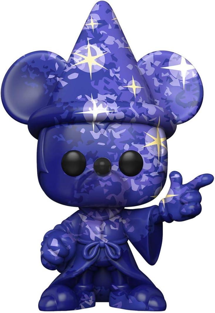 Funko-Pop Disney:Fantasia 80th-Mickey#1 (Artist Series) w/Case Fantasia Figura Coleccionable, Multicolor (51941)