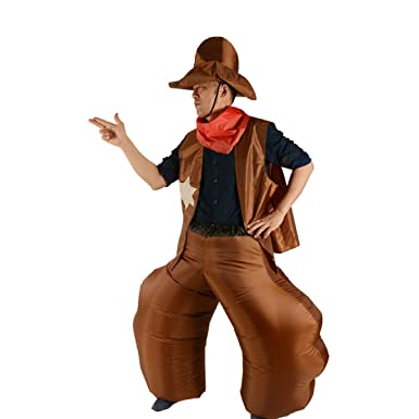 Amazon Com Yuanyistyle Inflatable Costumes For Adult Men Western