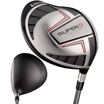 Amazon.com: Adams Golf Speedline Super S Negro Conductor – 9 ...