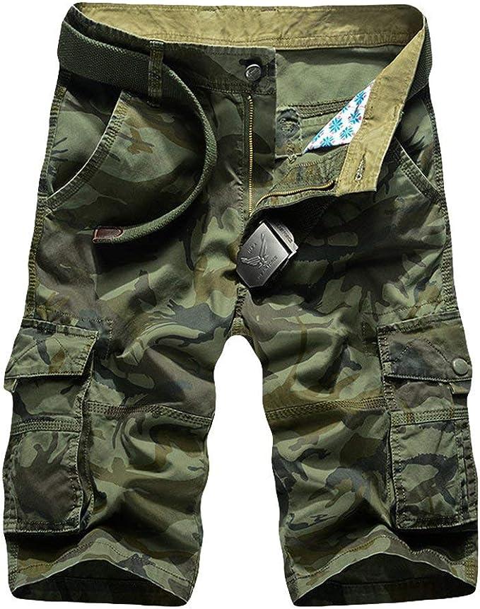 Pantalones Cortos De Muchos Bolsillos Hombres Carga para Pantalones Mode De Marca De Chándal Algodón Corto Camuflaje Niños Hombres Hombres Pantalones Cortos De Verano Pantalones Cortos: Amazon.es: Ropa y accesorios