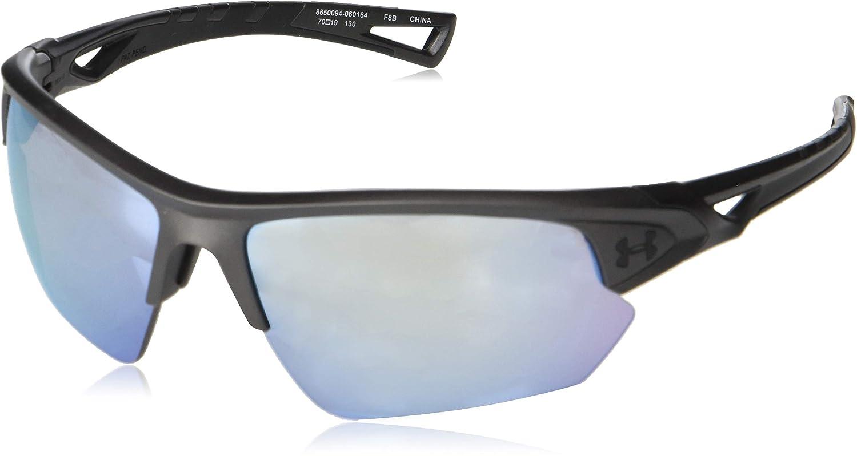 f9e7291c448 Amazon.com  Under Armour Ua Octane Wrap Sunglasses Carbon 68 mm  Clothing