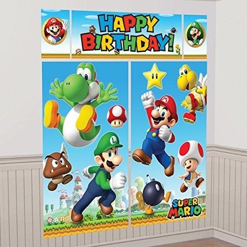 Super Mario Scene Setters?Wall Dec. Kit by -