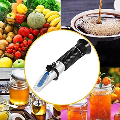YTYC 0-32% Brix Portable Honey Refractometer Beekeeping Tester Bees With ATC