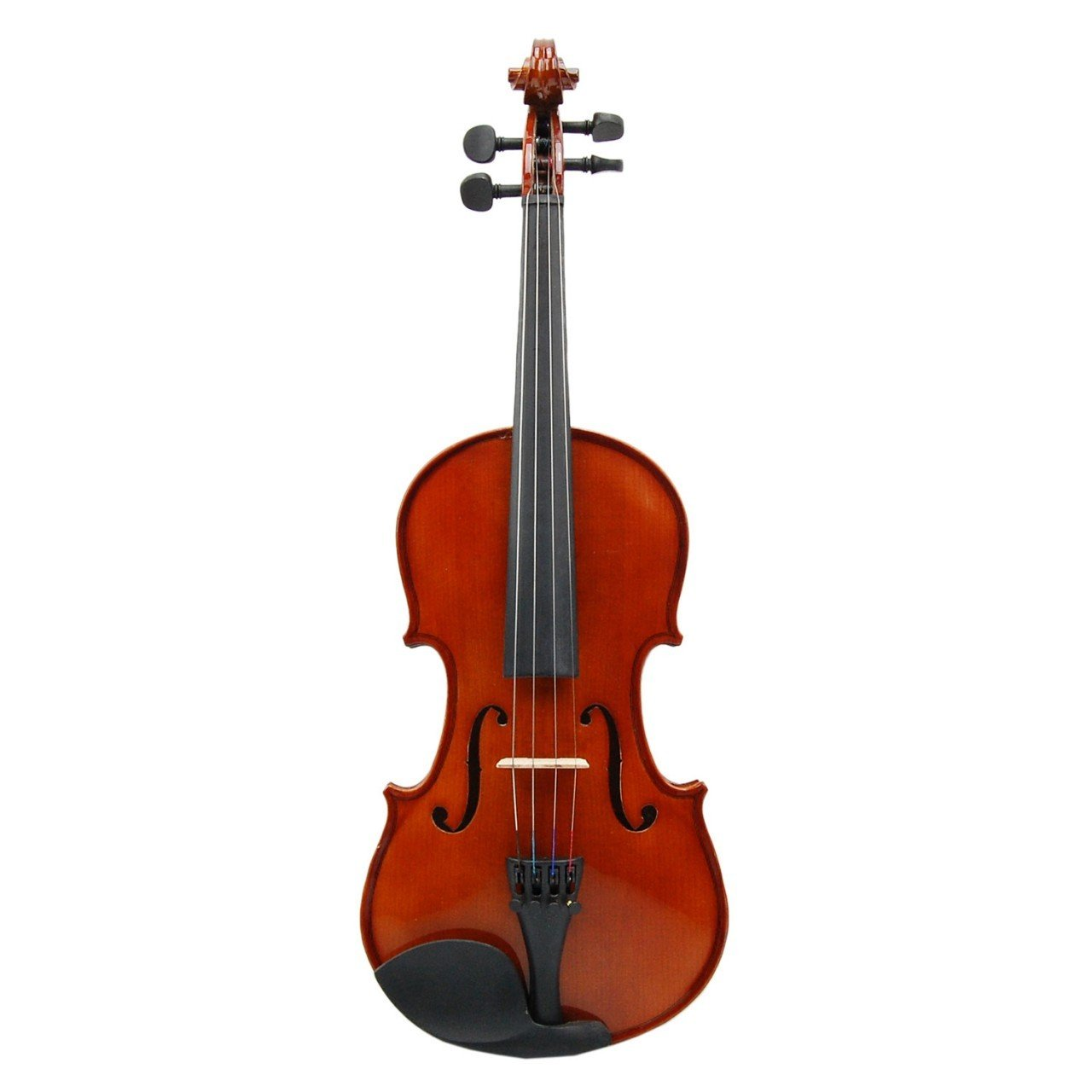 Advanced Beginner Solidwood Violin 1/8 Size Beautiful Inlaid Purfling and Varnished Finish for Students Orchestra School