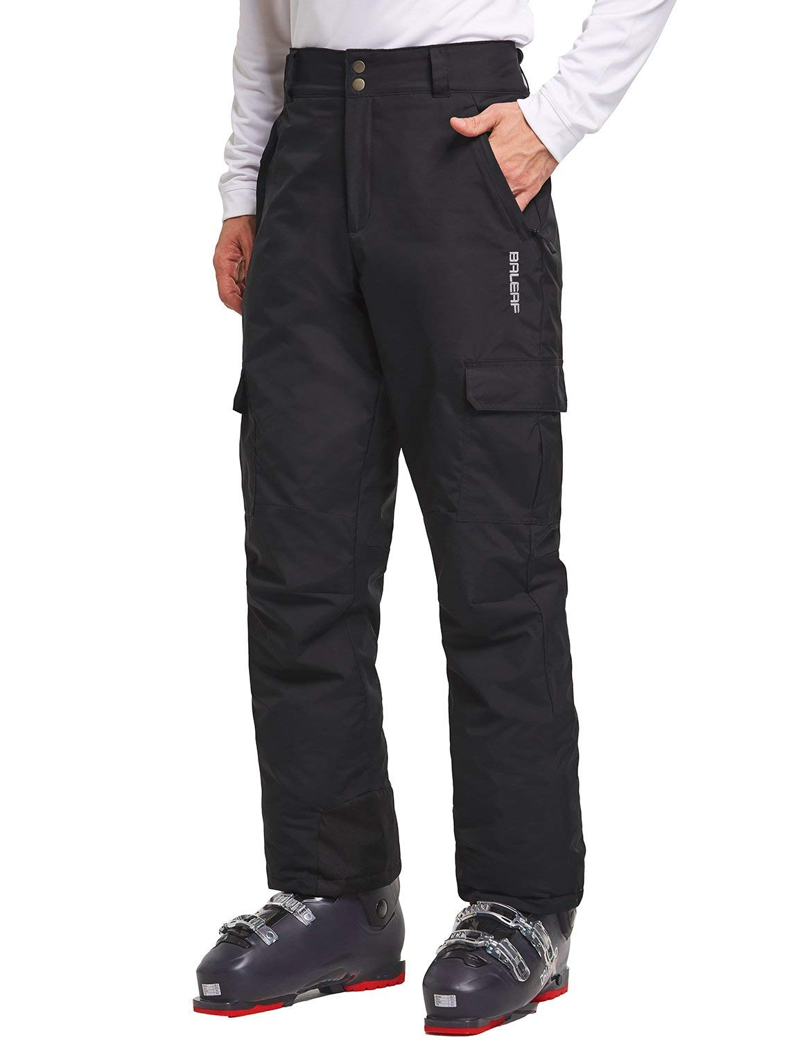Baleaf/ Mens/ Ski/ Snowboarding/ Pants/ Waterproof/ Windproof/ Winter/ Snow/ Insulated/ Pants