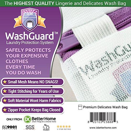 Large Lingerie Bag for Laundry - Premium Mesh Delicates Laun