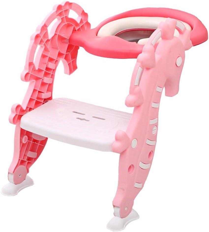 Rutschfester Toiletten-Ring f/ür Kleinkinder mit Griffen f/ür Jungen oder M/ädchen RetroFun T/öpfchen-Toilettensitz f/ür Kinder