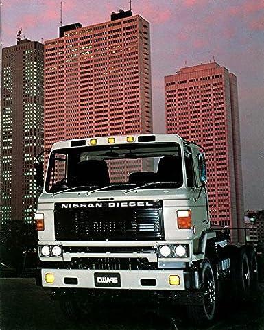 Nissan Diesel Truck >> Amazon Com 1982 Ud Nissan Diesel Cwa45 6 X 4 Truck Factory