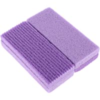 MagiDeal Pumice Bars (2 Pack): Large Grit Callus Remover Stones, Ped Files Scrubber for Smooth Feet/Heels
