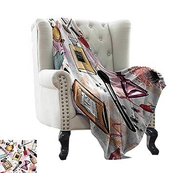 Make A Custom Blanket.Amazon Com Renteriadecor Girly Decor Summer Blanket