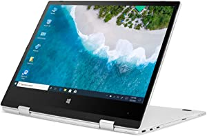 iProda Laptop, 2 in 1 Ultrabook 11.6 Inch HD Display (Intel N4100 2.4GHz, 4GB RAM, 64GB SSD, Windows 10 Pro) with Webcam & IPS Touchscreen, Ultra Thin & Light with Metal Shell, Best for Online Course