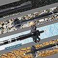 Peak Top Trekking Poles - Collapsible, Lightweight, Shock-Absorbent, Carbon Fiber Hiking, Walking & Running Sticks with Natural Cork Grips, Quick Locks, 4 Season/All Terrain Accessories - 1 Pair