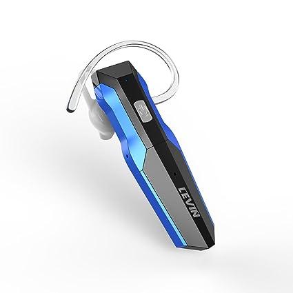 Auricular Bluetooth 4.1 Inalámbricos Casco Manos Libres Levin Auriculares Estéreo Compatible para iPhone, Android y