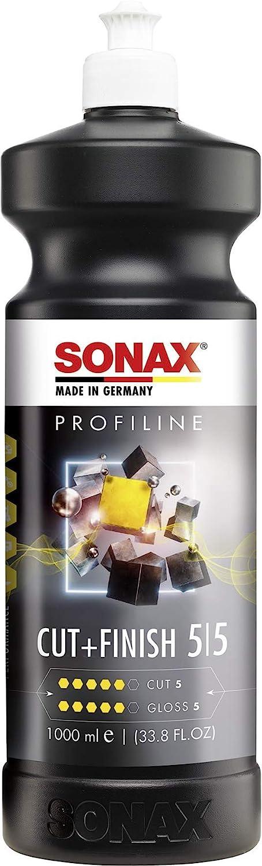 Sonax Profiline Cut Finish 1 Liter Zur Schnellen Beseitigung Von Fehlstellen Nach Der Reparaturlackierung Art Nr 02253000 Auto