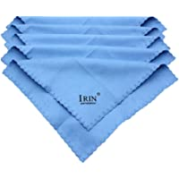 MagiDeal 5 Pcs Professional Guitar/Piano Cleaner Cleaning Small Cloth Towel - Blue