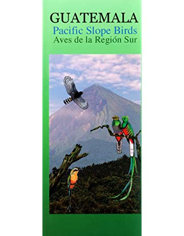 Guatemala Pacific Slope Birds Wildlife Guide (Laminated Foldout Pocket Field Guide)