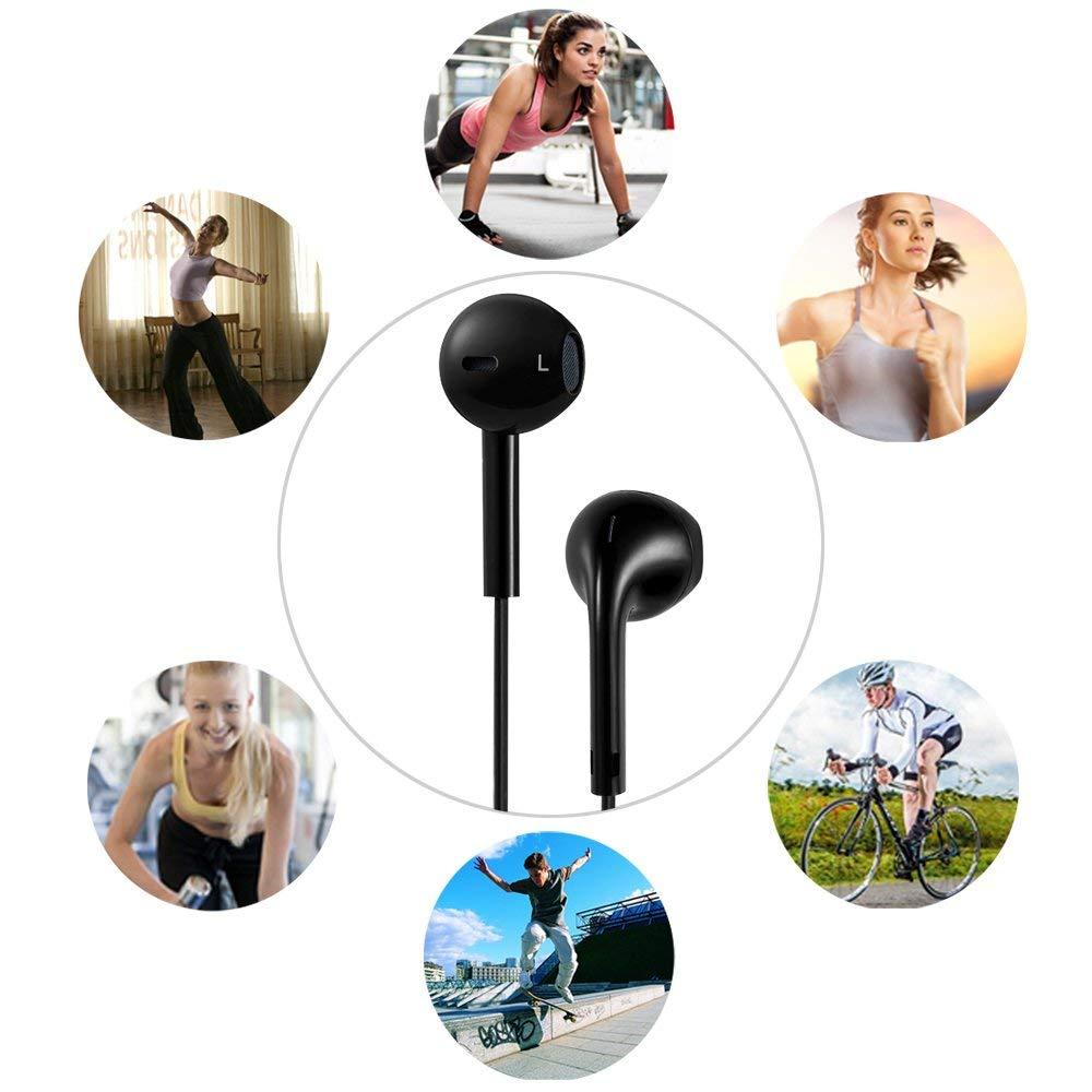 Auricular Inal/ámbrico Bluetooth,Deportivos Auricular Manos Libres V4.1 Bluetooth Auriculares Est/éreo con a Prueba de Sudor CVC6.0 Cancelaci/ón de Ruido y Micr/ófono HD para Huawei Samsung