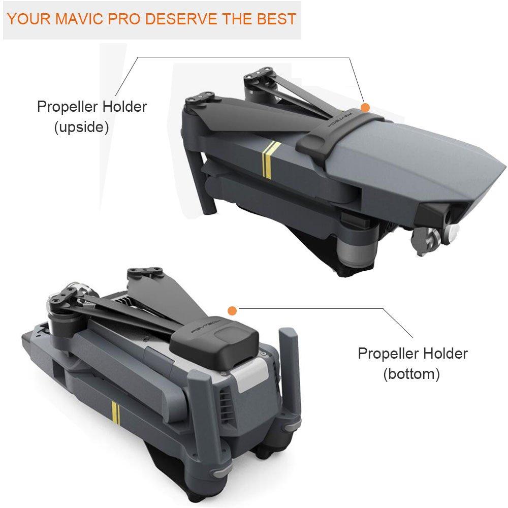 Propeller Holder for DJI MAVIC PRO , Propellers Motor Clip Holder Fixed Protection Guard Fixator for DJI Mavic Pro Accessories H-Shopping