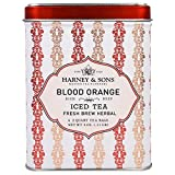 Best Harney & Sons Fruit Teas - Harney & Sons Herbal Fruit BLOOD ORANGE Iced Review