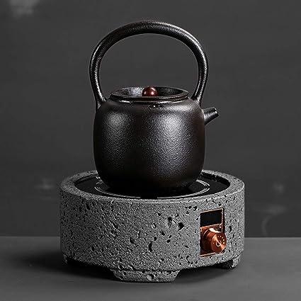 Estufa de cerámica eléctrica Pote de la Salud Té hervido Kung Fu Inicio Tetera pequeña Estufa