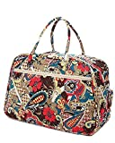 Belvah Quilted Large Duffle Bag (K2)