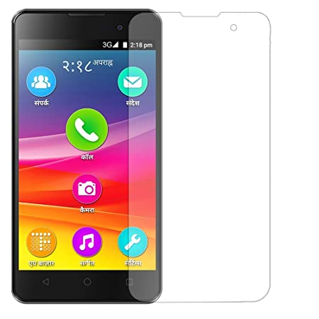 Shop Buzz Tempered Glass Screen Guard for Micromax Canvas Spark 2 Q334   Perfect Fit  amp; High Quality Spark2 Screen guards