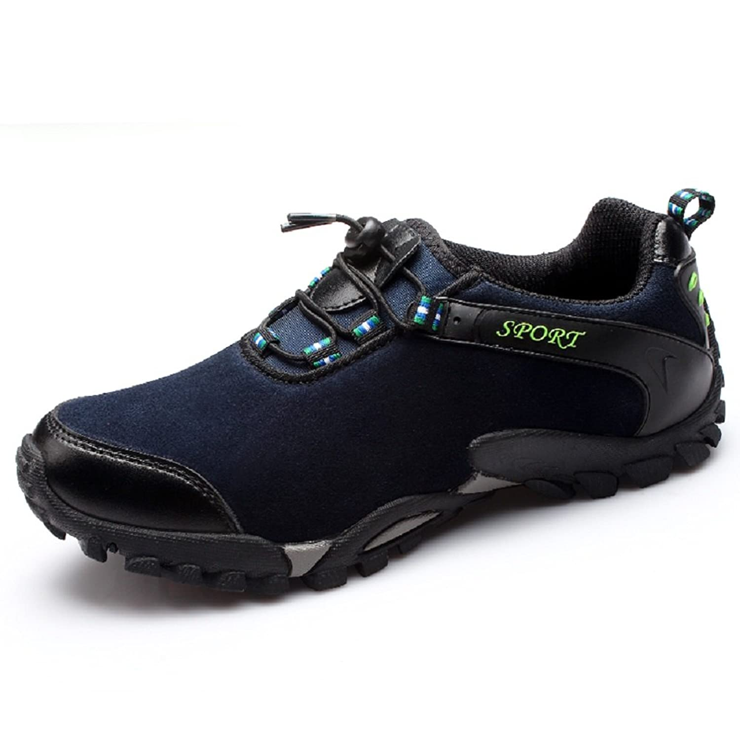 Lfsm Men's leather casual hiking shoes