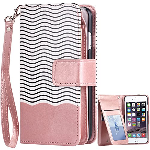 iPhone BENTOBEN Leather Wristlet Protective