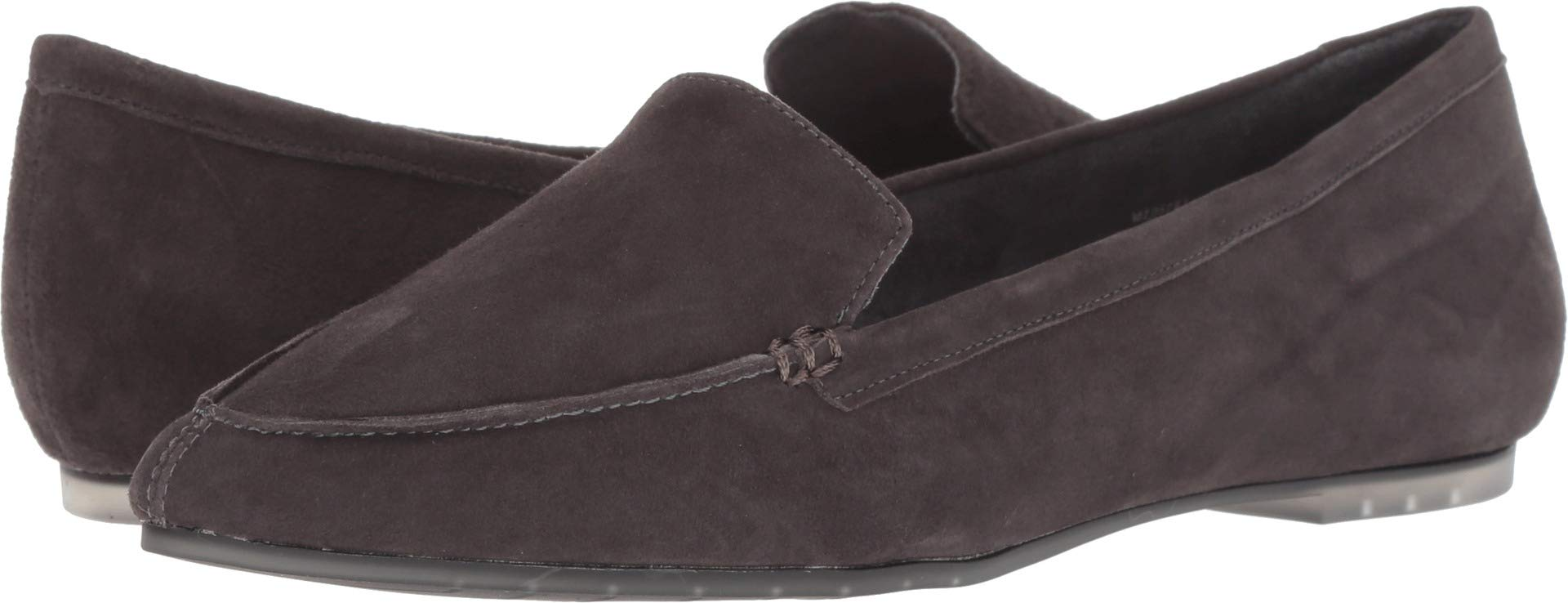 Me Too Women's Audra Dark Grey Suede 7 M US M