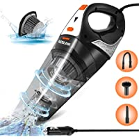 Car Vacuum, LOZAYI Corded Car Vacuum Cleaner High Power 5000PA Wet/Dry Portable Auto Car Vac with 16.4FT Power Cord…