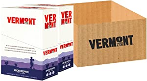 Vermont Smoke & Cure Meat Sticks, Turkey, Antibiotic Free, Gluten Free, Ancho Pepper, 1oz Stick, 48 Count