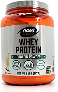 NOW Foods Sports Whey Protein Natural Vanilla - 2 lbs