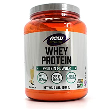 Amazon.com: Now Foods Deportes Proteína WHEY Natural ...