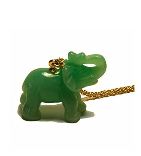 Amazon pendant necklace faux jade elephant kenneth jay lane pendant necklace faux jade elephant kenneth jay lane jewelry costume with chain costume jewelry aloadofball Gallery
