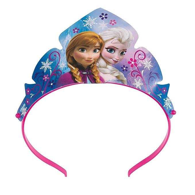 Disney Frozen Paper Tiara Party Favors, 3ct