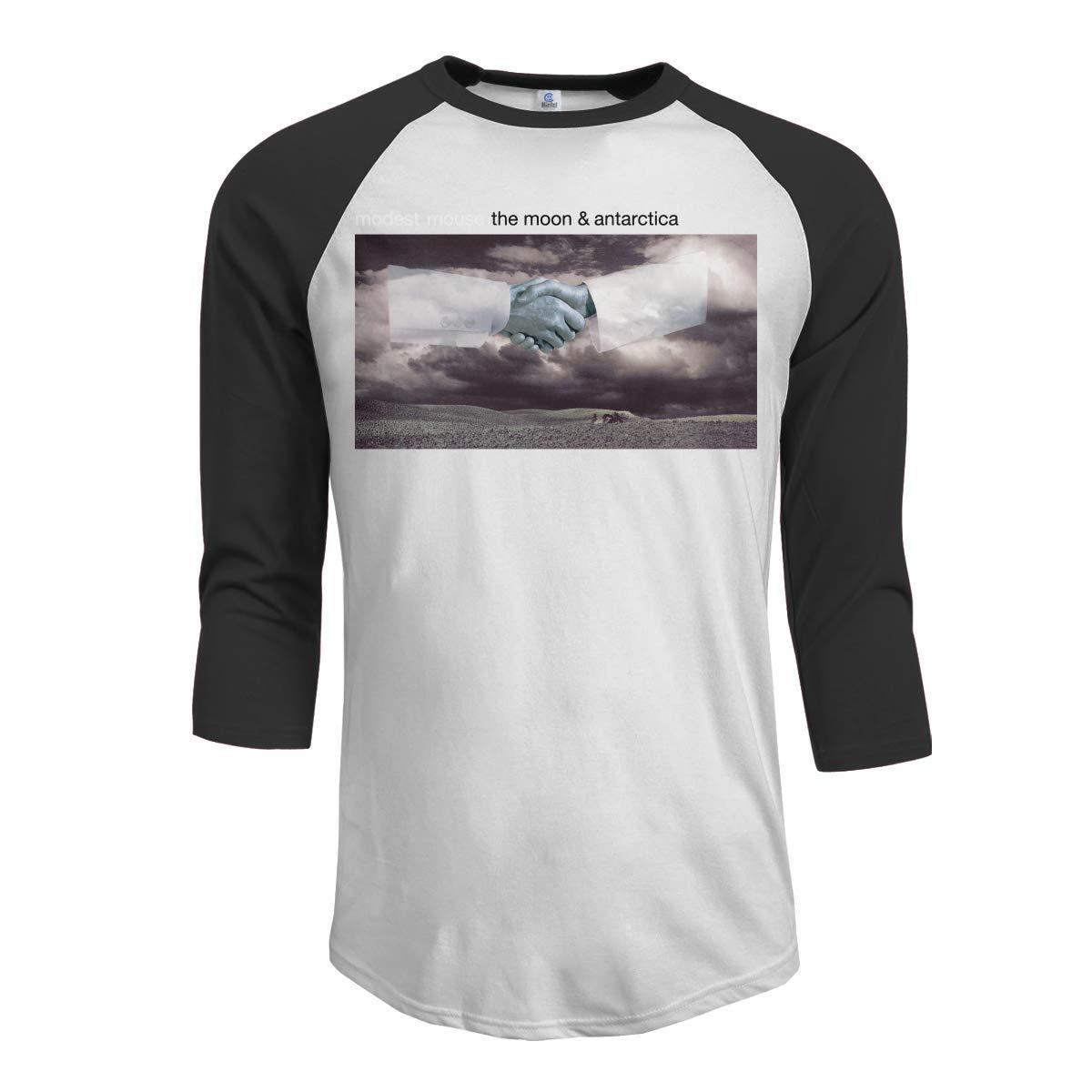 Macwe Modest Mouse The Moon Antarctica S 3 4 Sleeve Baseball Black Shirts