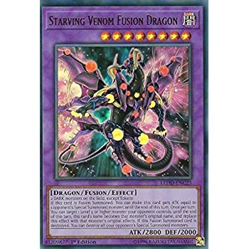 Starving Venom Fusion Dragon INOV-EN038 Secret Rare Mint To Near Mint 1st E