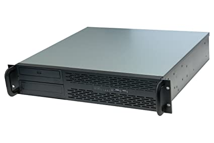Norco 2U Rack Mount Server Chassis - Black RPC-231