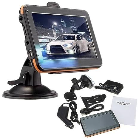 "AUDEW Nuevo 4,3"" Universal"" TFT Táctil Navegación GPS Navegador GPS de Coche"