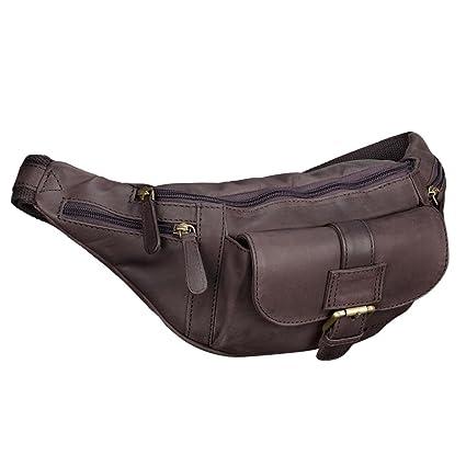 STILORD  Sam  Vintage Sac banane cuir pour hommes femmes sac de ceinture  pour voyage f434d30076e