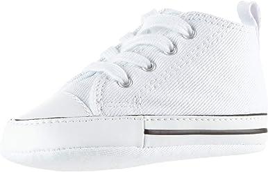 Converse CT ALL Star Infant First Star Rojo Hi parte superior Zapatillas 88875Cuna para bebés zapatos