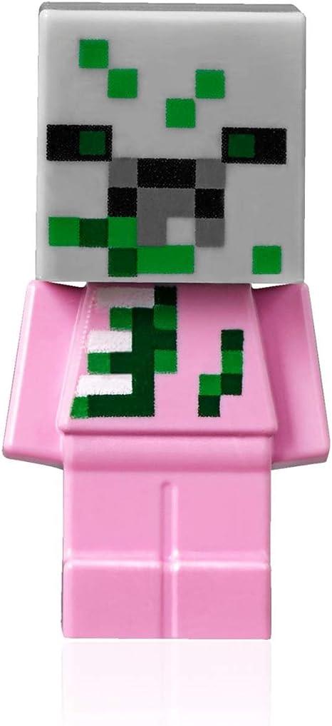 MOB Creative TOY Mine Hero Figures ~ ZOMBIE ~ Mineblocks Mini Gift Character