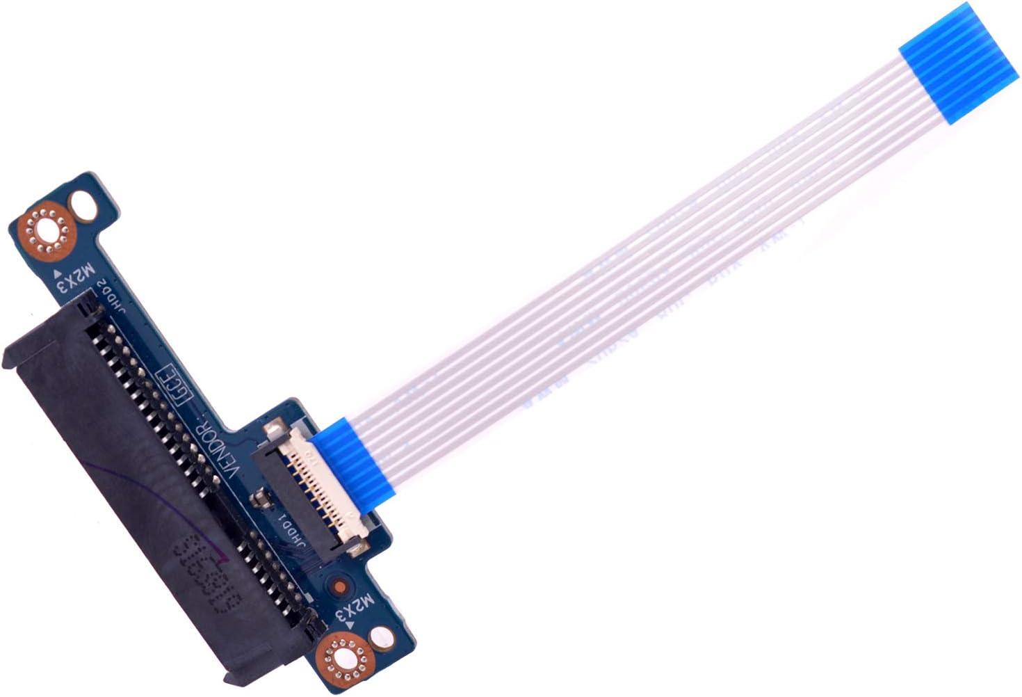 Deal4GO SSD Hard Drive Cable SATA HDD Interface Connector Board for HP 15-BS 15-BW 255 G6 250 G6 15T-BR 15Z-BW CSL50 LS-E793P 4350EN32L01