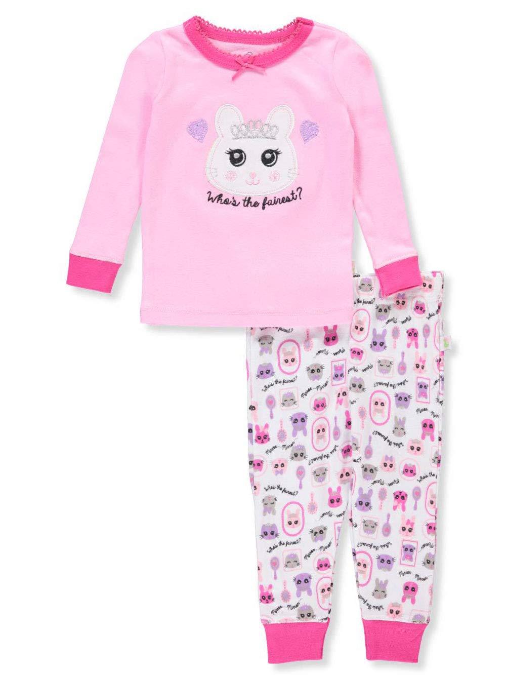 Duck Duck Goose Baby Girls' 2-Piece Pajama Set