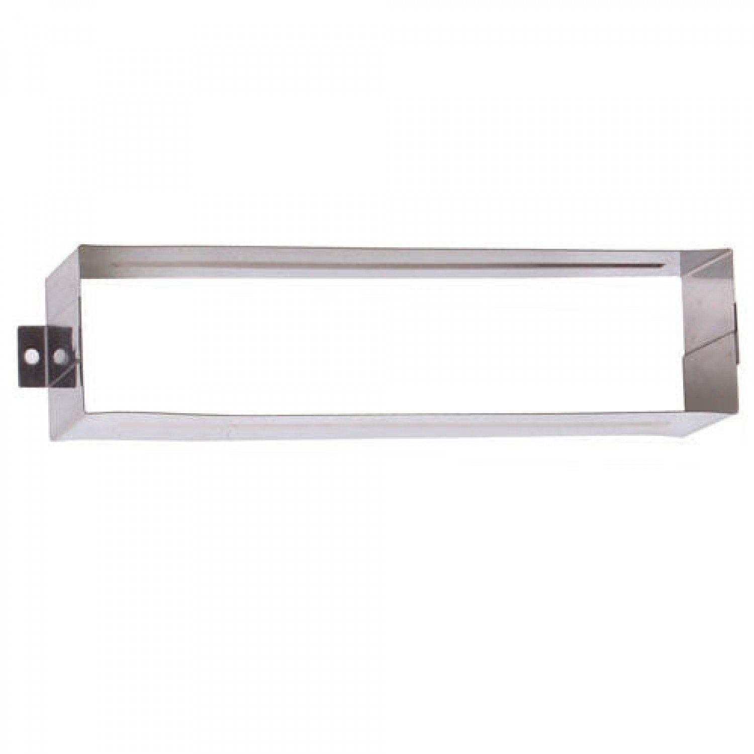 Naiture Small Mail Slot Interior Sleeve-for 10'' X 3'' Mail Slot - Stainless Steel
